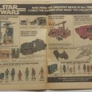 1977 STAR WARS Marvel Comic Book 2 Full Pages Print Ad - Advertisment