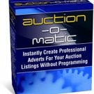 Auction-O-Matic-Creates Professional Looking HTML Auctions