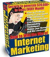 Win the War of Internet Marketing-Ebook and Software-Guide to more Website Traffic
