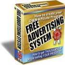 Free advertising system-Never spend another cent on ads