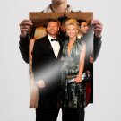 Ryan Seacrest And Julianne Hough 36x24 inch print Poster