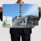 Chernobyl Nuclear Power 36x24 inch print Poster