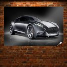 Hyundai Luxury Sports Coupe Hnd Poster 36x24 inch