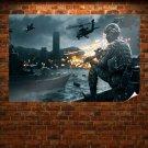 Battlefield 4 Siege Of Shanghai Poster 36x24 inch