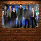 Almost Human Cast Poster 36x24 inch