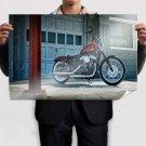 Harley Davidson Sporster Xl 12 Poster 36x24 inch
