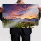 Superb Hill Landscape Poster 36x24 inch