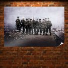 Band Of Brothers Cast Poster 36x24 inch