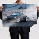Rainy Audi R8 Poster 36x24 inch