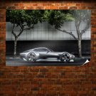Mercedes Amg Vision Gt Side Poster 36x24 inch