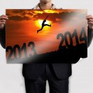 Jumping In 2014 Poster 36x24 inch
