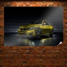 Bmw M4 Concept Poster 36x24 inch