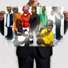Wu Tang Clan Group Poster 36x24 inch