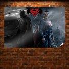 Batman Vs Superman Fan Art Poster 36x24 inch
