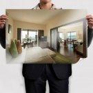 Hilton Room Design Poster 36x24 inch