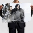 Jon Snow And Ygritte Poster 36x24 inch