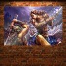 Forsaken World Angel Poster 36x24 inch