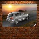 Grey Audi Q5 Poster 36x24 inch