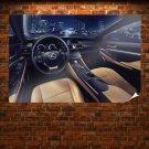Lexus Rc Coupe Interior Poster 36x24 inch