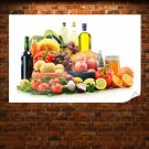Good And Healthy Foods Poster 36x24 inch
