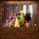 Pure Red Wine Poster 36x24 inch
