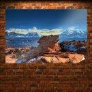 Moab Utah Mountains Poster 36x24 inch