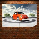 Fiat 500 2013 Edition Poster 36x24 inch