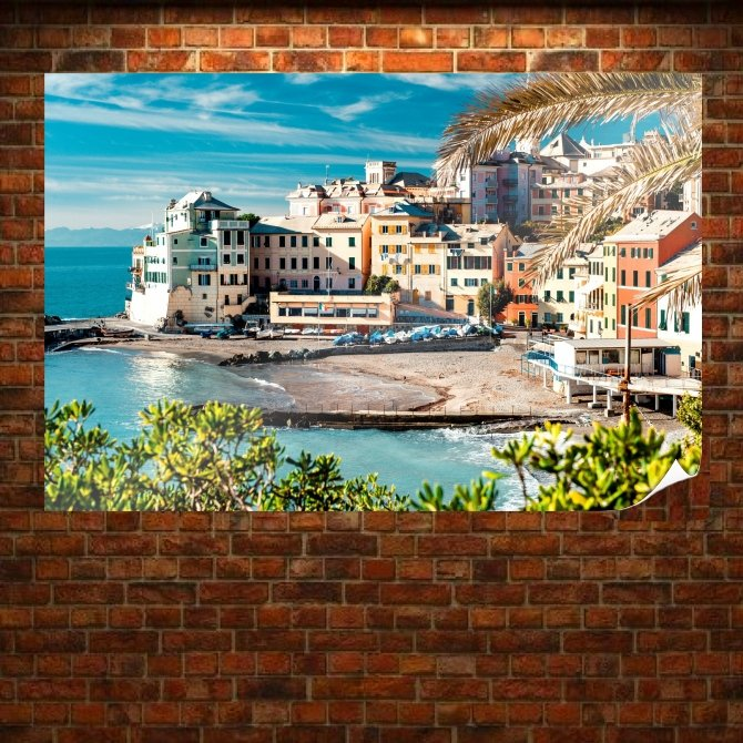 Cinque Terre Superb View Poster 36x24 inch