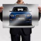 Blue Audi Sq5 Tdi Front Poster 36x24 inch