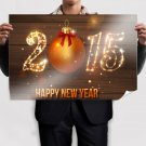 2015 Happy New Year Poster 36x24 inch