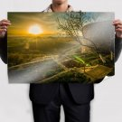 Sunrise In Ararat Armenia Poster 36x24 inch
