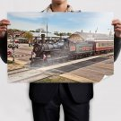 Superb Old Train Poster 36x24 inch