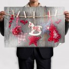 Superb Christmas Decorations Poster 36x24 inch
