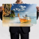 Somewhere In Thailand Poster 36x24 inch