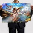 Fantasy Elves From Forsaken World Poster 36x24 inch