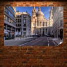 St Pauls Cathedral London Poster 36x24 inch