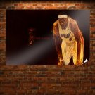 Lebron James Hd  Poster 36x24 inch