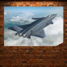 J 20 Pla Stealth Fighter  Poster 36x24 inch