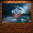New Orleans Pelicans  Poster 36x24 inch