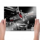 Blake Griffin Jumps Over Car  Poster 24x18 inch