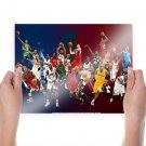 Basketball Nba Wallpaper Poster 24x18 inch