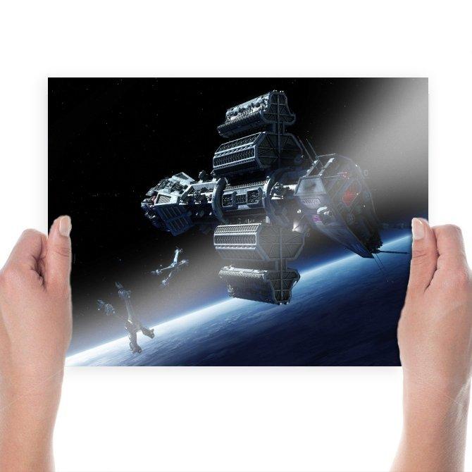 Babylon 5  Poster 24x18 inch