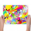 Colorful Cartoons  Poster 24x18 inch