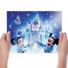 Disney Christmas  Poster 24x18 inch