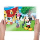 Minnie And Mickey Mouse  Poster 24x18 inch