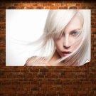 Blonde Girl  Poster 36x24 inch