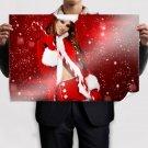 Christmas Girl  Poster 36x24 inch