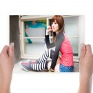 Cute Girl  Poster 24x18 inch