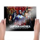 Captain America The Winter Soldier  Poster 24x18 inch