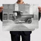 Classic Car Classic Truck Retro Vintege Poster 32x24 inch